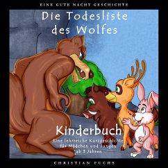 EINE GUTE NACHT GESCHICHTE - Die Todesliste des Wolfes (MP3-Download) - Fuchs, Christian
