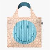 LOQI Bag, SMILEY, Geometric, Recycled
