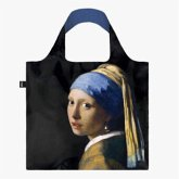 LOQI Bag, JOHANNES VERMEER, Girl with a Pearl Earring, Recycled