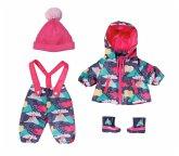Zapf Creation® 830062 - BABY born Deluxe Schneeanzug, 4-teilig, Puppenkleidung, 43 cm