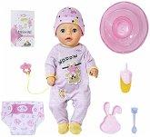 Zapf Creation® 831960 - BABY born Soft Touch Little Girl mit 7 Funktionen und Zubehör, 36 cm
