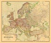 Historische Verkehrskarte von EUROPA 1941 [gerollt]