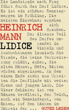 Lidice (eBook, ePUB)