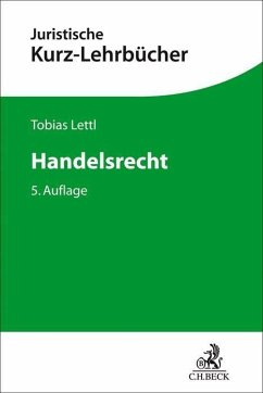 Handelsrecht - Lettl, Tobias