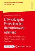 Entwicklung der Professionellen Unterrichtswahrnehmung