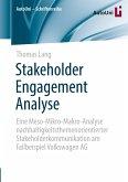 Stakeholder Engagement Analyse