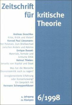 Zeitschrift für kritische Theorie / Zeitschrift für kritische Theorie, Heft 6 / Zeitschrift für kritische Theorie HEFT 6