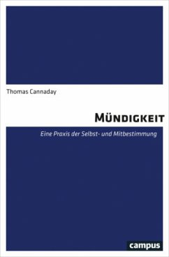 Mündigkeit (Mängelexemplar) - Cannaday, Thomas