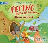 Pepino Rettungshörnchen - Alarm im Park, 1 Audio-CD