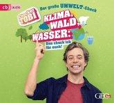 Checker Tobi - Der große Umwelt-Check: Wald, Klima, Wasser - Das check ich für euch!, 1 Audio-CD