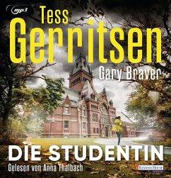 Die Studentin, 2 MP3-CD - Gerritsen, Tess;Braver, Gary