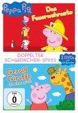 Peppa Pig - Das Feuerwehrauto & Peppa Pig - Gerald Giraffe ist schon groß und andere Geschichten