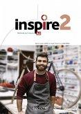 Inspire 2 - Internationale Ausgabe. Kursbuch mit Parcours digital® und Beiheft