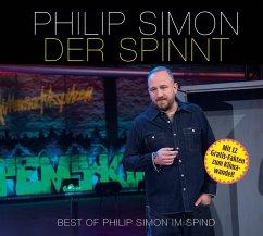 Der spinnt - Best-of Philip Simon im Spind, 1 Audio-CD - Simon, Philip