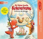 Der kleine Drache Kokosnuss erforscht die Wikinger / Der kleine Drache Kokosnuss - Alles klar! Bd.8 (1 Audio-CD)