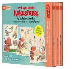 Alles klar! Der kleine Drache Kokosnuss - Die große Forscher-Box, 3 Audio-CD - Siegner, Ingo