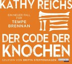 Der Code der Knochen / Tempe Brennan Bd.20 (6 Audio-CDs)