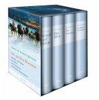 Fjodor Dostojewski, Die großen Romane - Die Brüder Karamasow - Der Idiot - Schuld und Sühne - Die Dämonen (4 Bände im Schuber)