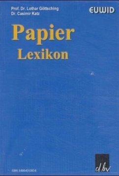 Papier-Lexikon mit CD-ROM., m. Buch, m. CD-ROM (Mängelexemplar) - Göttsching, Lothar; Katz, Casimir
