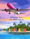 Airplane Coloring Book for Kids vol.2