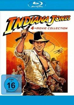 Indiana Jones 1-4 BLU-RAY Box - Harrison Ford,Karen Allen,John Hurt