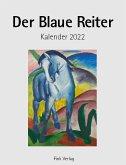 Der Blaue Reiter 2022. Kunstkarten-Einsteckkalender