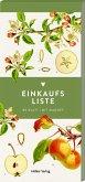 Einkaufsliste, Äpfel (Küchenpapeterie)