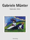 Gabriele Münter 2022. Kunstkarten-Einsteckkalender