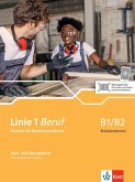Linie 1 Beruf B1/B2 Brückenkurs. Kurs- und Übungsbuch mit Audios und Videos