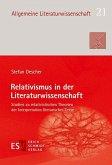 Relativismus in der Literaturwissenschaft (eBook, PDF)