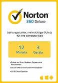 NortonLifeLock Norton 360 Deluxe (3 Geräte / 1 Jahr) (Download für Windows)