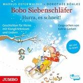 Bobo Siebenschläfer. Hurra, es schneit!, Audio-CD
