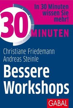 30 Minuten Bessere Workshops - Friedemann, Christiane;Steinle, Andreas