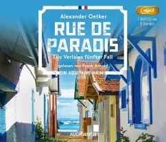 Rue de Paradis / Luc Verlain Bd.5 (1 MP3-CD) - Oetker, Alexander