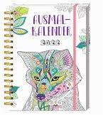 Ausmalkalender 2022 - Buchkalender