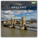 ENGLAND NATIONAL GEOGRAPHIC SQUARE WALL