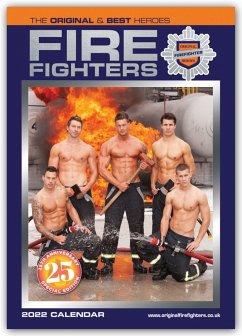 Fire Fighters - Feuerwehrmänner 2022 - A3 Format Posterkalender - Carousel