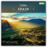 SPAIN NATIONAL GEOGRAPHIC SQUARE WALL CA