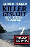 Killer gesucht: 7 Strand Krimis - 1500 Seiten Spannung (eBook, ePUB)