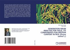GENERATION MEAN ANALYSIS FOR YIELD, ITS COMPONENTS FOR PROTEIN CONTENT IN RICE (Oryza sativa L.)