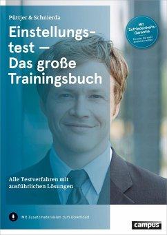 Einstellungstest - Das große Trainingsbuch (Mängelexemplar) - Püttjer, Christian; Schnierda, Uwe
