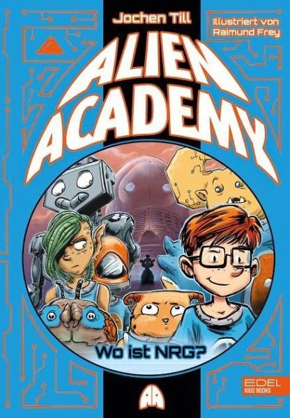 Buch-Reihe Alien Academy