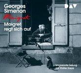 Maigret regt sich auf / Kommissar Maigret Bd.26 (4 Audio-CDs)