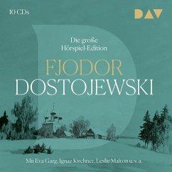 Die große Hörspiel-Edition, 10 Audio-CD - Dostojewskij, Fjodor M.
