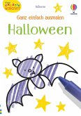 Kleine Kreativ-Werkstatt - Ganz einfach ausmalen: Halloween