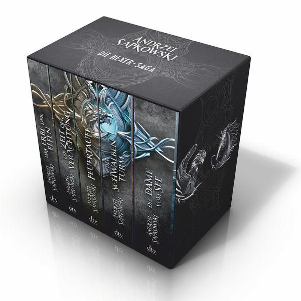 Die 5 Bände der Hexer-Saga