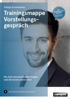 Trainingsmappe Vorstellungsgespräch (Mängelexemplar) - Püttjer, Christian; Schnierda, Uwe