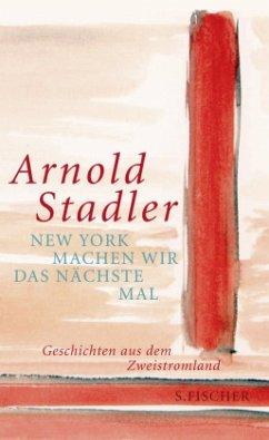 New York machen wir das nächste Mal (Mängelexemplar) - Stadler, Arnold