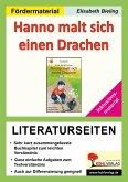 Hanno malt sich einen Drachen - Literaturseiten / Inklusionsmaterial (eBook, PDF)
