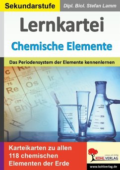 Lernkartei Chemische Elemente (eBook, PDF) - Lamm, Stefan